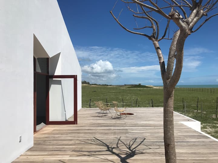 MODICO: Charming Beach House-Sao Miguel Do Gostoso