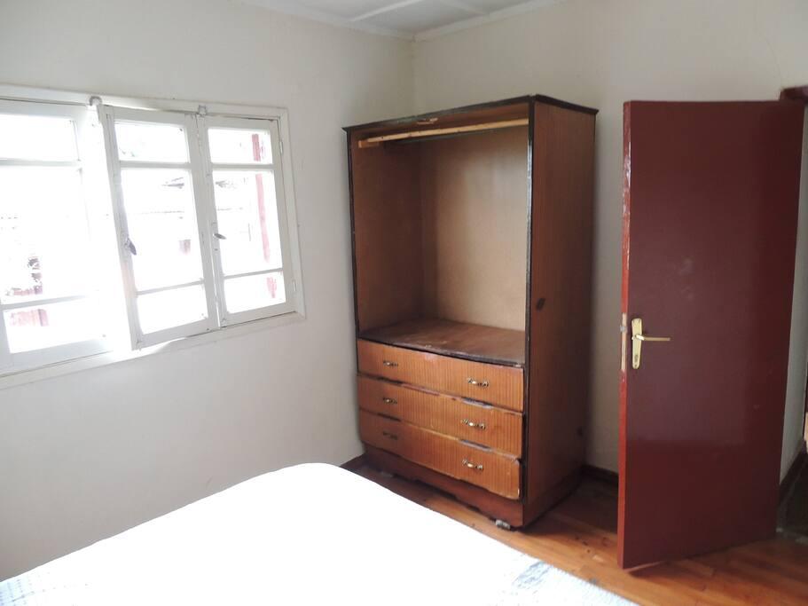 cupboard in bedroom