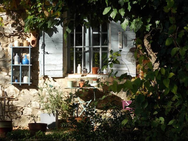 Traditional stone house in Provence