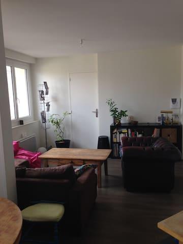 Studio de 34m2 hypercentre, proche de la gare - Rennes - Apartamento