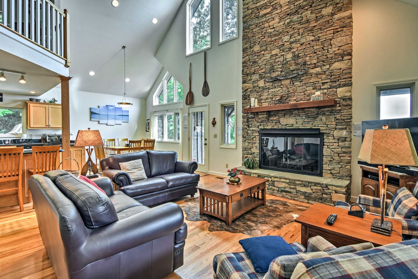 Make the most of your Hays getaway at this 3-bedroom, 3-bath vacation rental!
