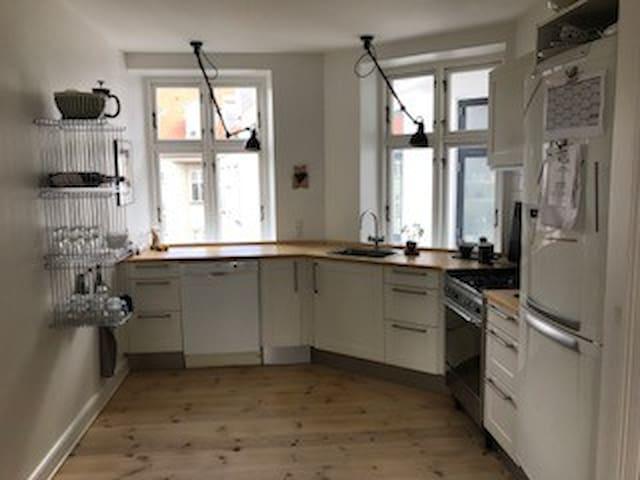 Åben køkken
