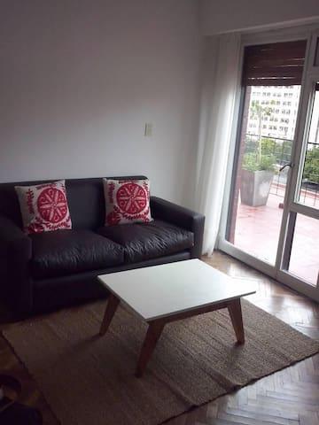 Bright large apartament w/ terrace in Recoleta - Buenos Aires - Apartament