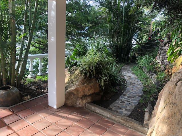 Private entrance to Casita