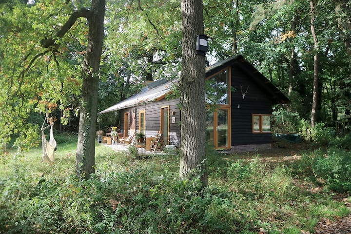 houten droomhuis voor twee