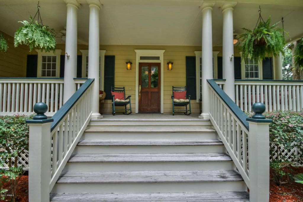 Staircase to Front Porch
