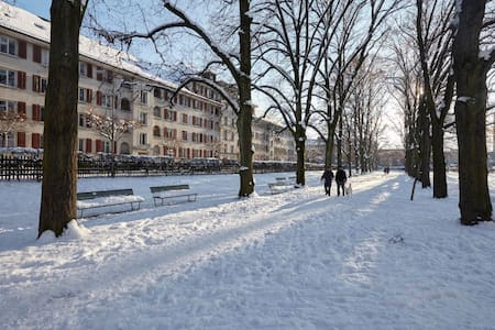 THE place to be, 2-room-apartment - Zürich