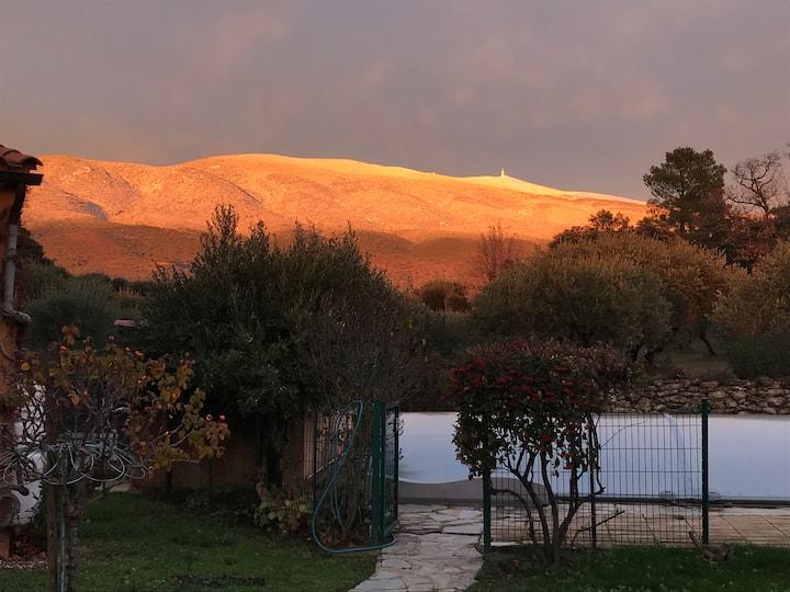 Chambre d'Hôte au pied du Mont Ventoux