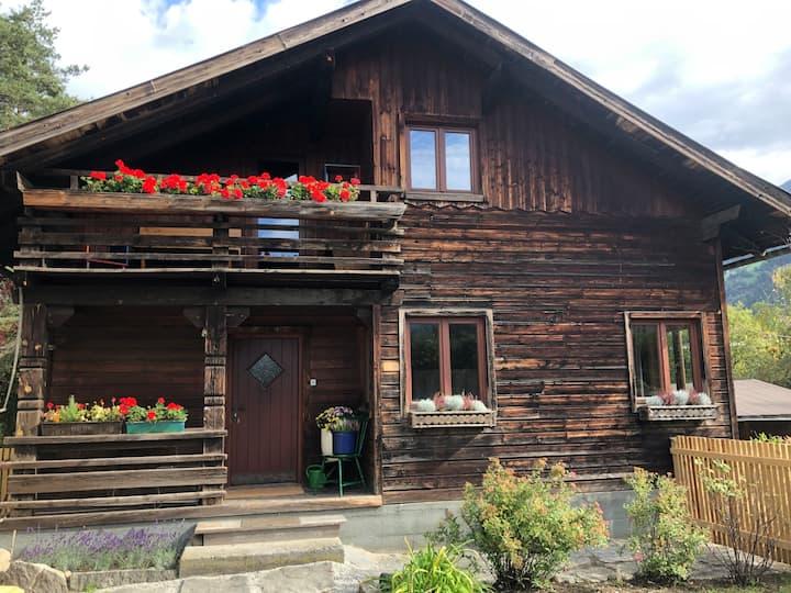 Villa Alberto - zentrales, gemütliches Holzhaus