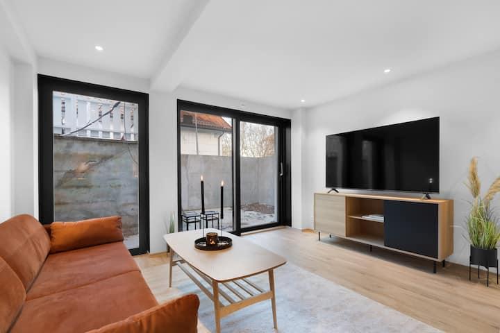 Ny moderne toroms leilighet (A) sentralt i Bodø