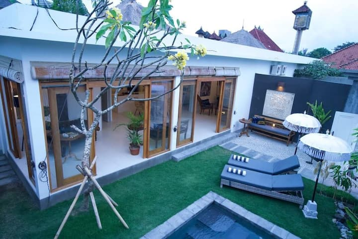 Dwipa | Peaceful & spacious 2 bedroom villa