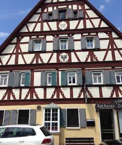 Fachwerkhaus in der Altstadt , Wohnung Silvaner - Bad Windsheim