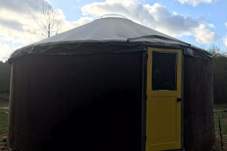 The Yurt with the Yellow Door