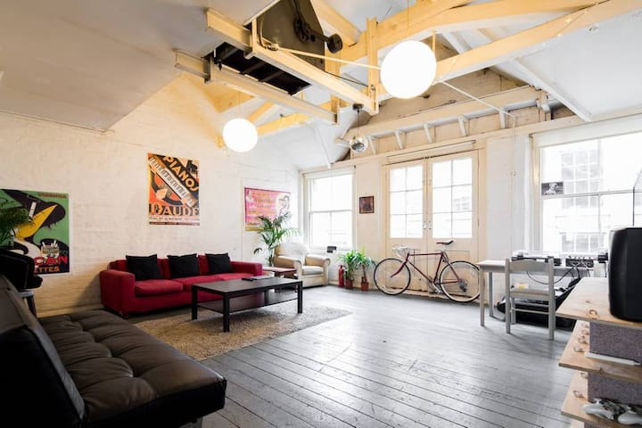 Cosy Room in Shoreditch with Stunning Roof Terrace