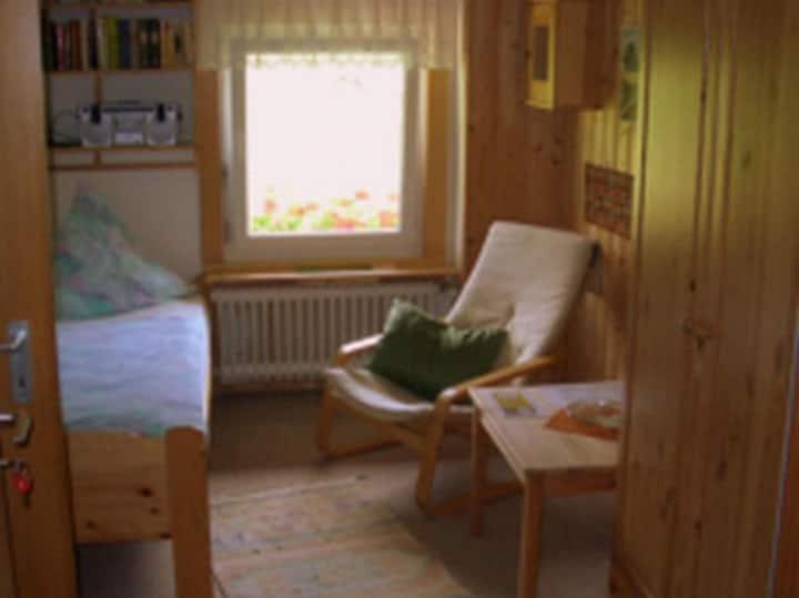 Hornihäusle, (Schönwald), Einzelzimmer mit WC/Dusche