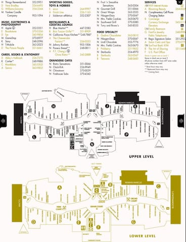 The Millenia Mall Directory & Map 2/2