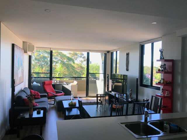1.5 bedroom executive style security apartment - Chatswood
