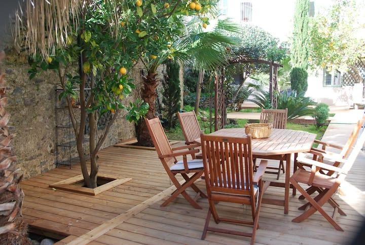 Splendide appart' 165m2, terrasse, coeur village