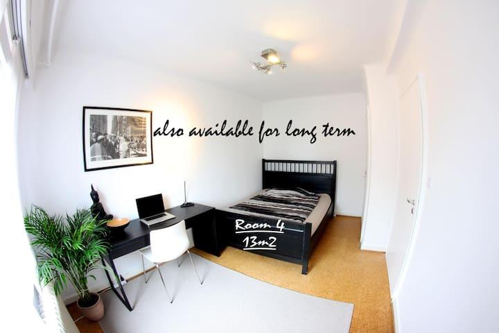 4)Room near plateau de Kirchberg - Luxembourg - Rumah