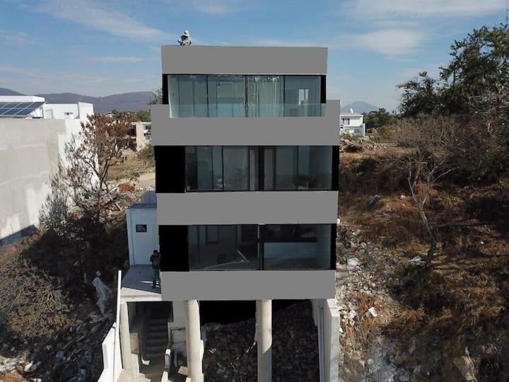 Casa Montaña Lago tiene una vista espectacular