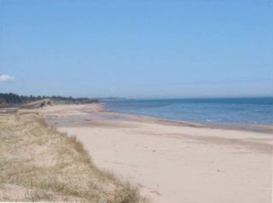 looking west Lakeside Beach