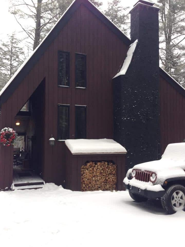 Killington-area home in the woods