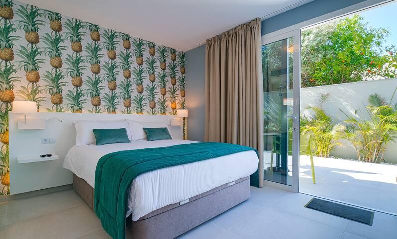 VILLA RG Hôtel : Chambre Comfort avec Terrasse