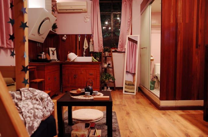 【超高性价比】原租界核心近地铁 古色古香浪漫小公寓