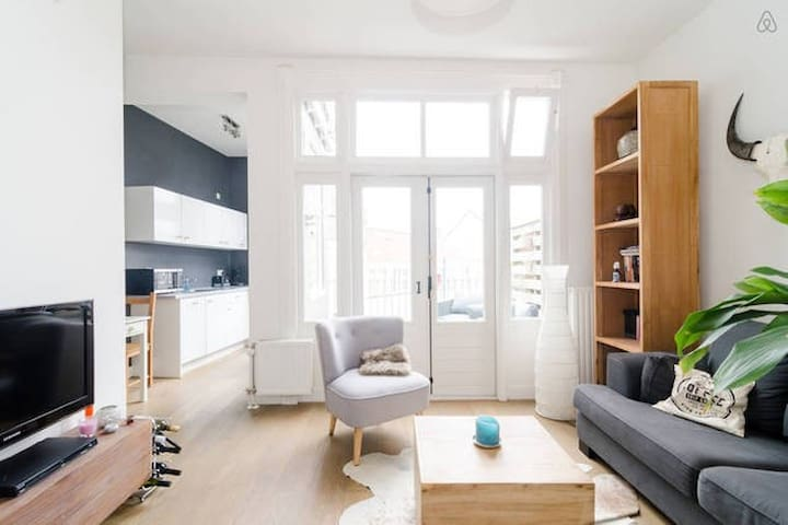 Cosy apartment nearby city center and trainstation