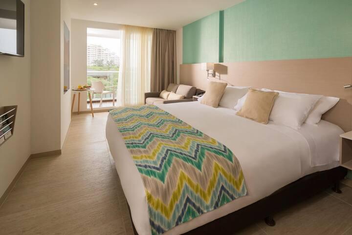 Hab. Superior Queen - Hotel Mercure Santa Marta
