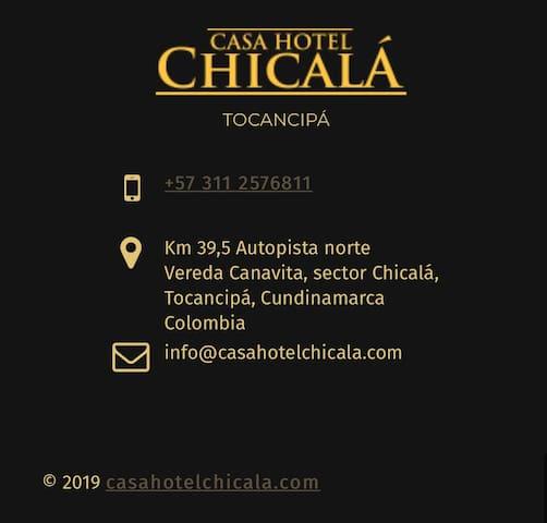 """CASA HOTEL CHICALA """"TU HOGAR FUERA DE CASA"""""""