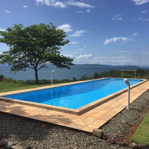 Comfortable, modern house - breathtaking sea view