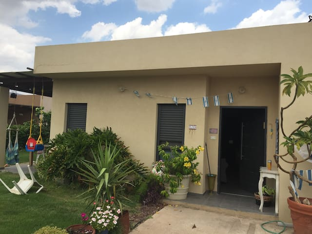 Jordan Valley Kibutz house - Ashdot Ya'akov Ihud