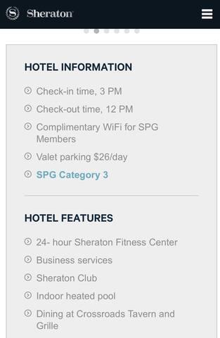 Hotel room Marriott Memphis