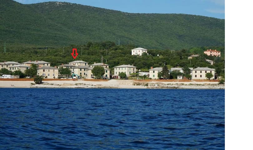 Appartment Grego 200m from the beach - Koromačno - Daire