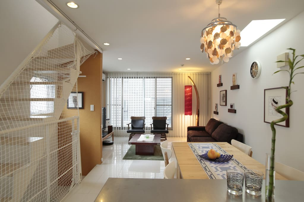 80m2 nordic japanese house in shinjuku houses for rent for Modern house 80m2