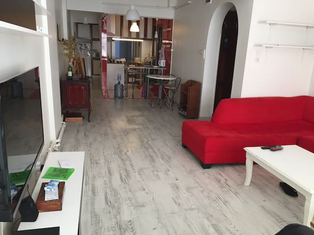 Kadikoy, moda 1double 1single bad - Caferağa - Apartment