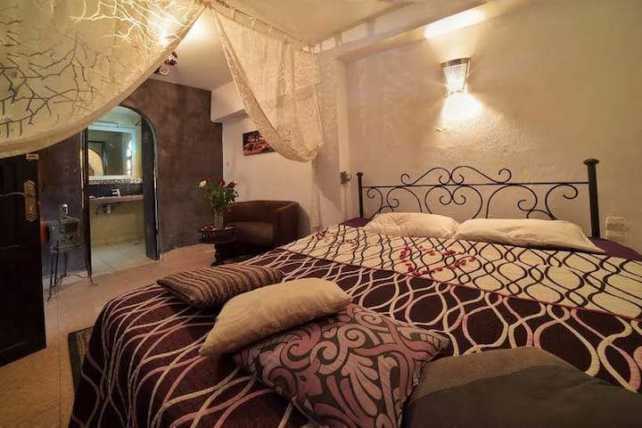 Essaouira youth Hostel: Chambre double du-luxe