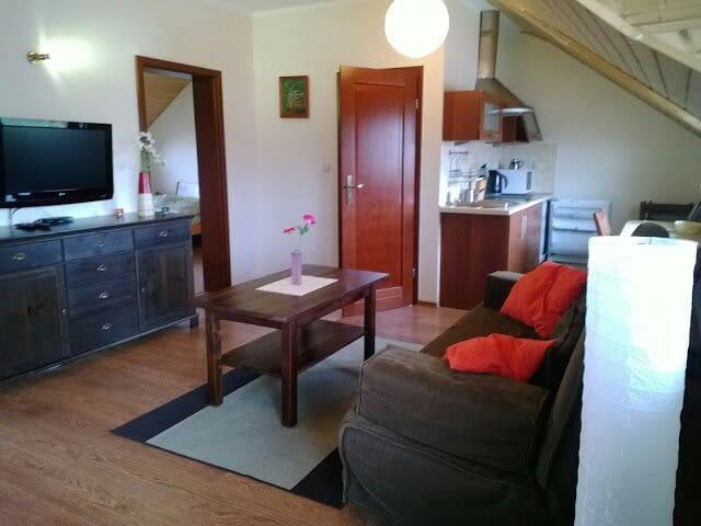 Komfortowy apartament trzypokojowy - Rowy, pomorskie, PL - Apartmen