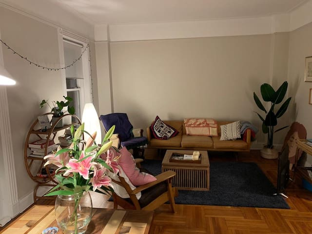 Charming Park Slope 1BR, steps to park and museum