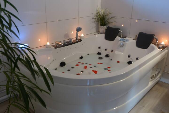 Chambre d'hôte romantique avec SPA