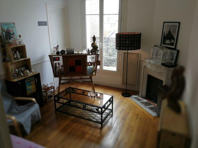 Chambre 15mts á Boulogne Jean Jaurès