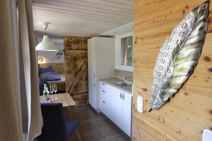 Tinyhouse Hygge im fränkischen Seenland