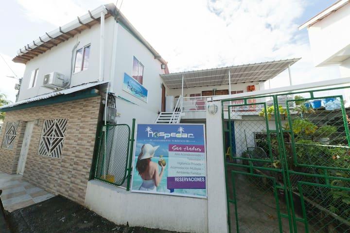 Hospedaje San Andrés Excelente Ubicación Hab. 101