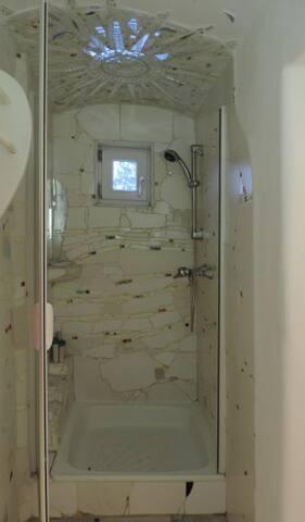 Bad, Dusche      bathroom shower