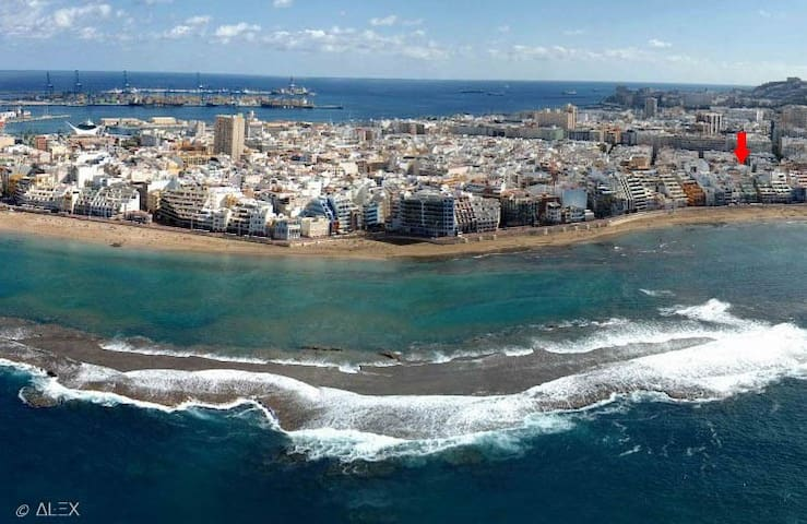 Comfortable and large apartment in Las Canteras - Las Palmas de Gran Canaria - Apartment