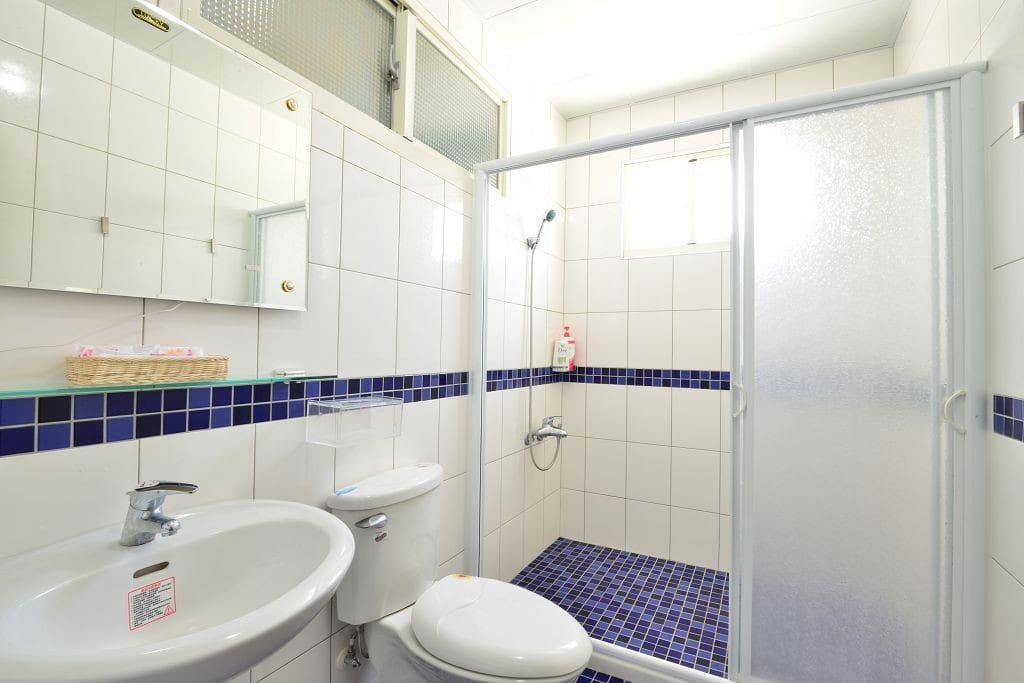 302房型 蔚藍天空 衛浴設備 乾濕分離
