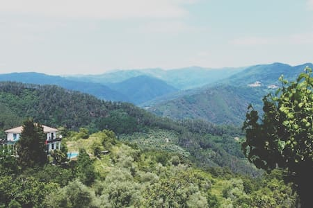 Mountain Casa with Pool - Tivegna - House