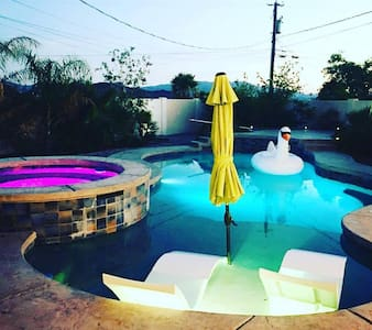Havasu Chic Resort. Heated spa, bbq - Lake Havasu City - Casa
