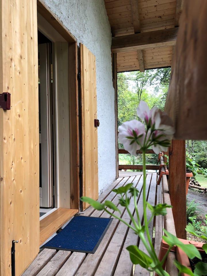 Casa in montagna immersa nella natura